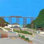 鉄橋を見に行く