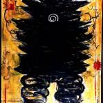 ウオッチング -watching-  Oil on Canvas 162.0×130.3 1997年